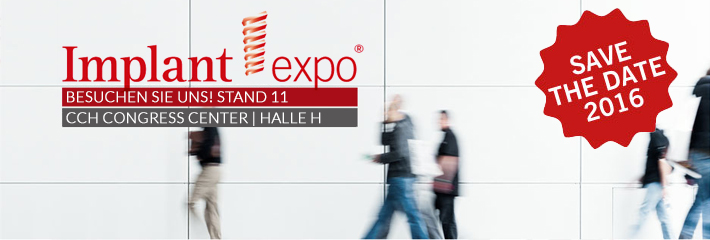 Implant Expo® 2016 – The dental Implantology Exibition