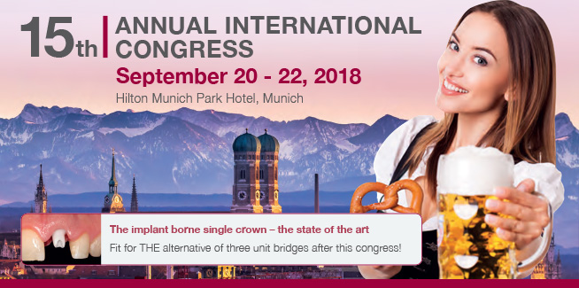 15th Annual International Congress | Munich 2018