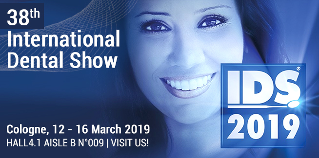 IDS 2019, International Dental Show – Cologne from 12-16 March 2019