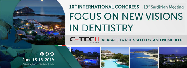 Focus on new Vision in Dentistry | Chia 2019 | Sardegna