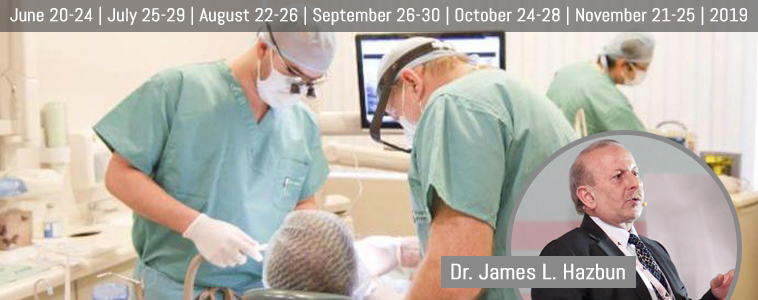 5 days | Residence in Dental Implantology (Surgical & Prosthetic)
