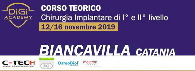 Corso Teorico | Chirurgia Implantare di I° e II° Livello | Catania