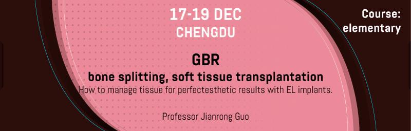 Elementary Course | GBR, bone splitting, soft tissue transplantation.