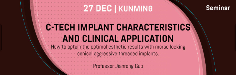 C-Tech implant characteristics and clinical applications.