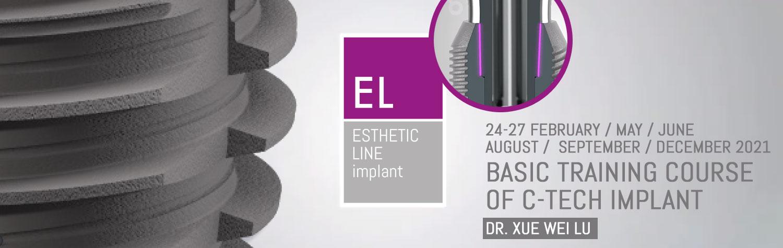 Basic training course of C-Tech Implant