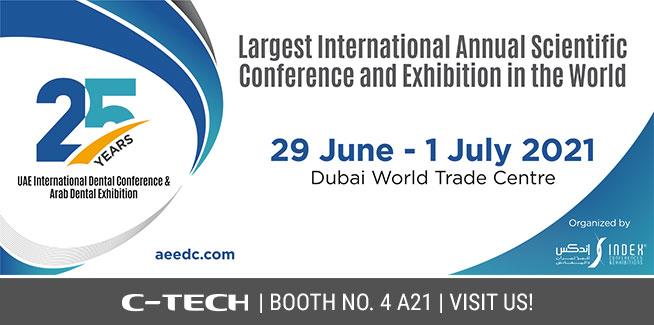 25th UAE International Dental Conference & Arab Dental Exhibition – AEEDC Dubai 2021