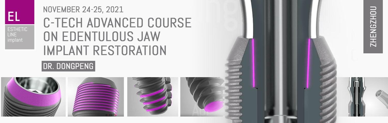 November 24-25, 2021 | C-TECH advanced course on edentulous jaw implant restoration